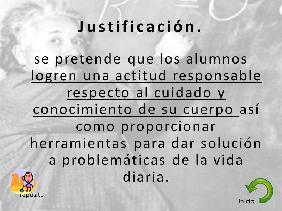 Justificación.