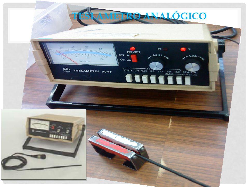 Teslametro analógico