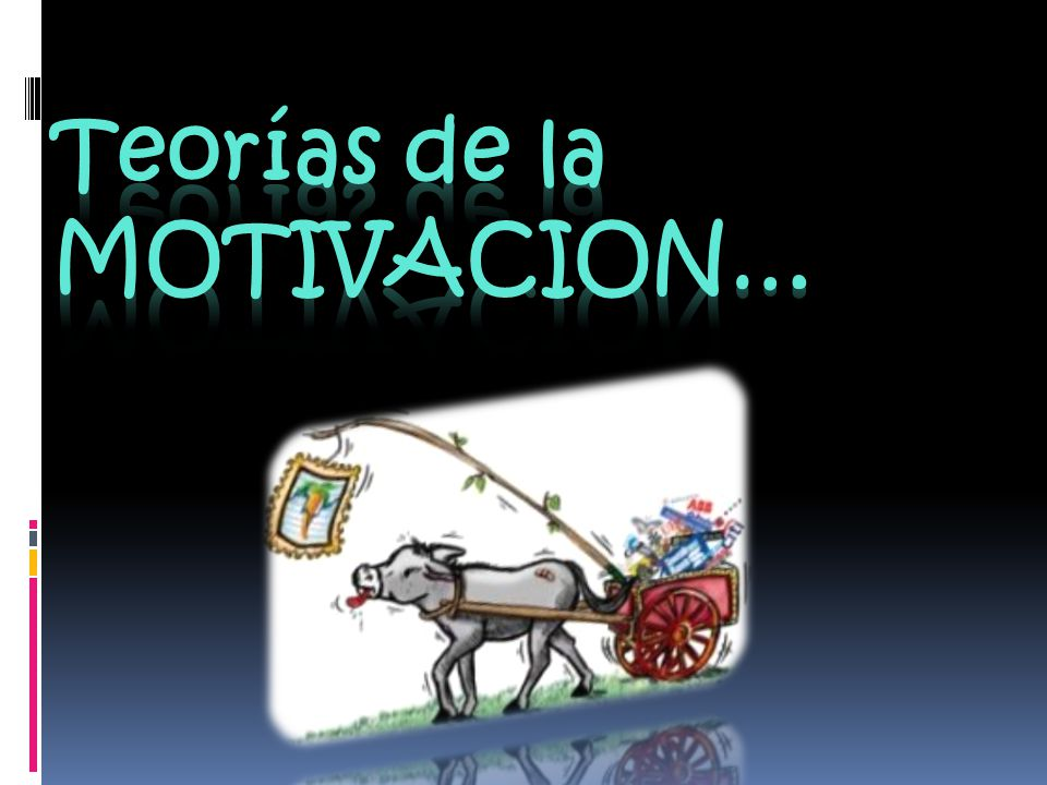 Teorías de la MOTIVACION…