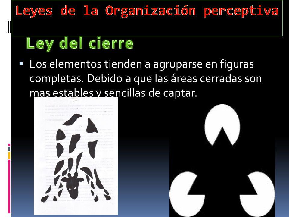 Leyes de la Organización perceptiva