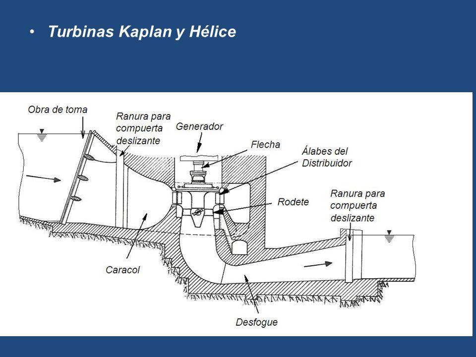 Turbinas Kaplan y Hélice