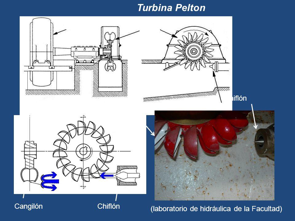 Turbina Pelton Generador Rodete Chiflón Cangilón Rodete Cangilón