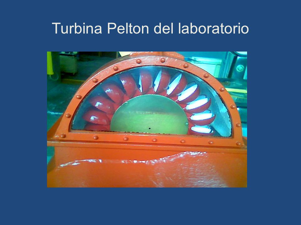 Turbina Pelton del laboratorio