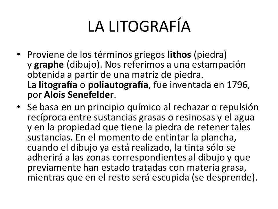 LA LITOGRAFÍA