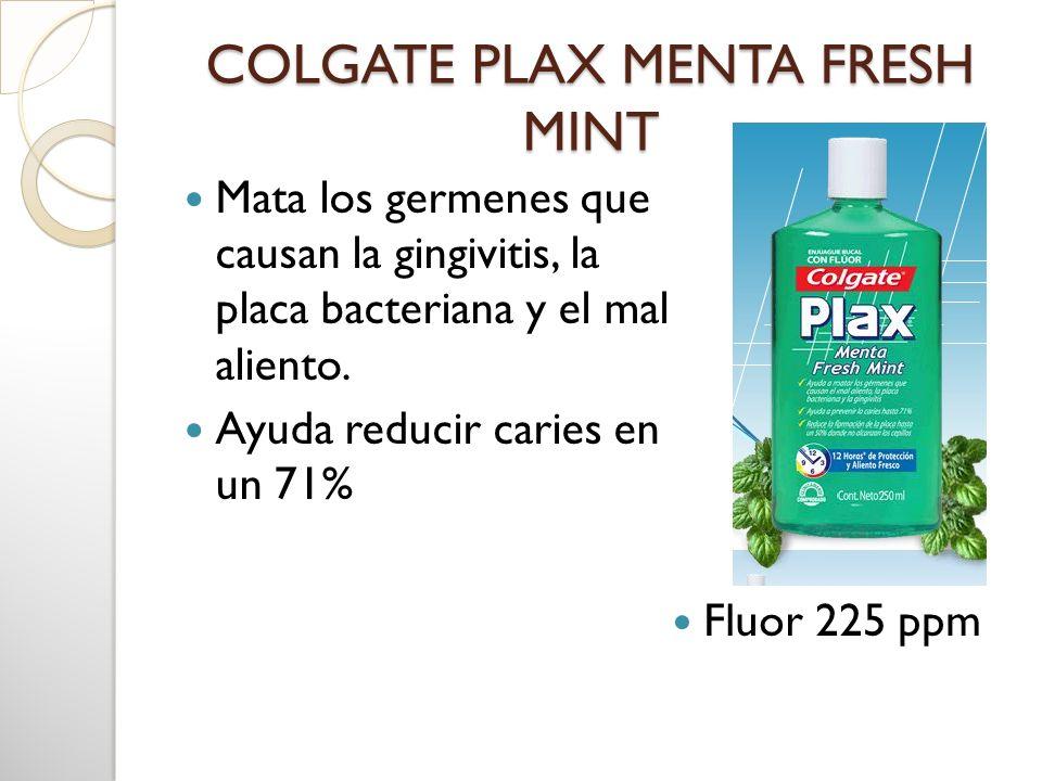 COLGATE PLAX MENTA FRESH MINT