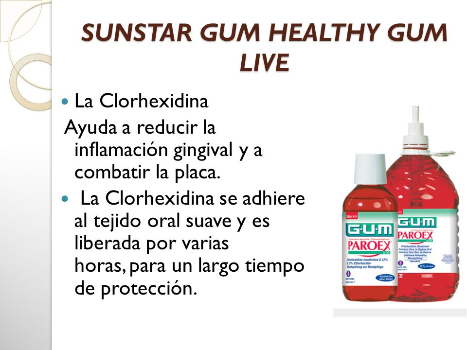 SUNSTAR GUM HEALTHY GUM LIVE