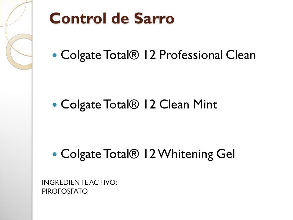 Control de Sarro Colgate Total® 12 Professional Clean