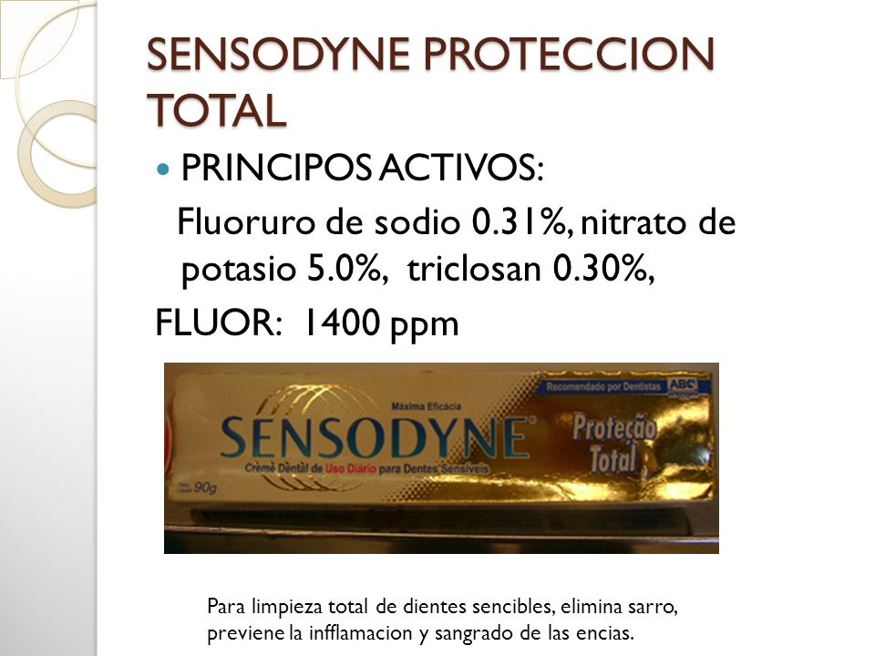 SENSODYNE PROTECCION TOTAL