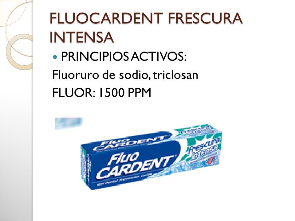 FLUOCARDENT FRESCURA INTENSA