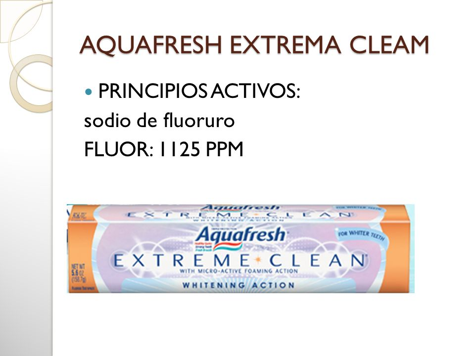 AQUAFRESH EXTREMA CLEAM