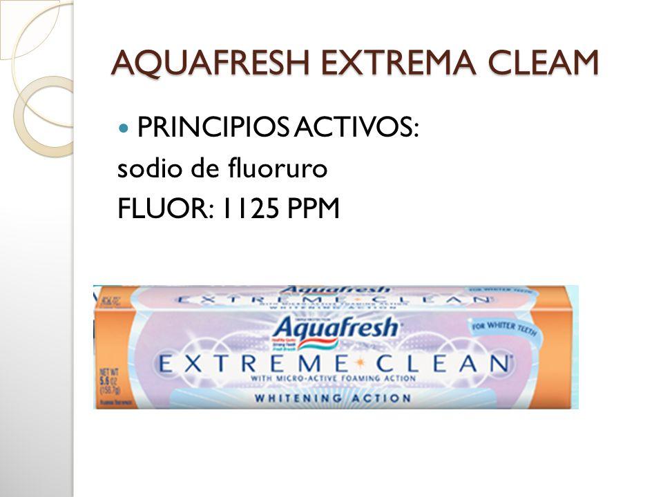 AQUAFRESH EXTREMA CLEAM