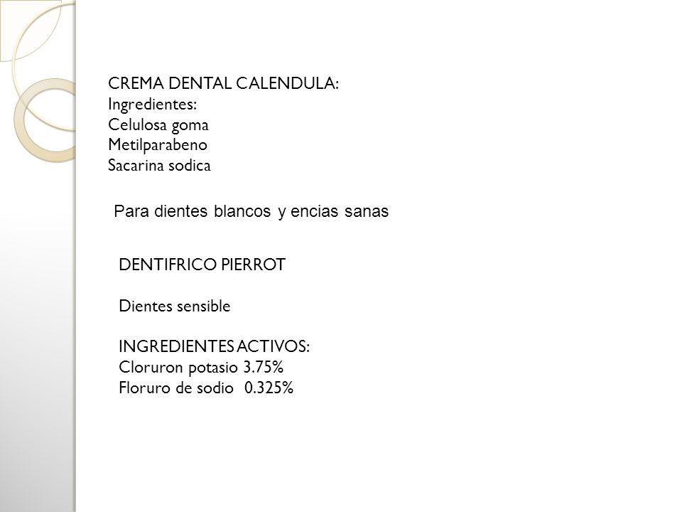 CREMA DENTAL CALENDULA:
