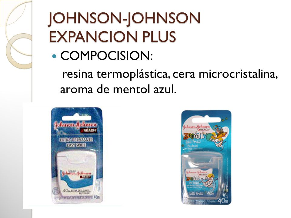 JOHNSON-JOHNSON EXPANCION PLUS