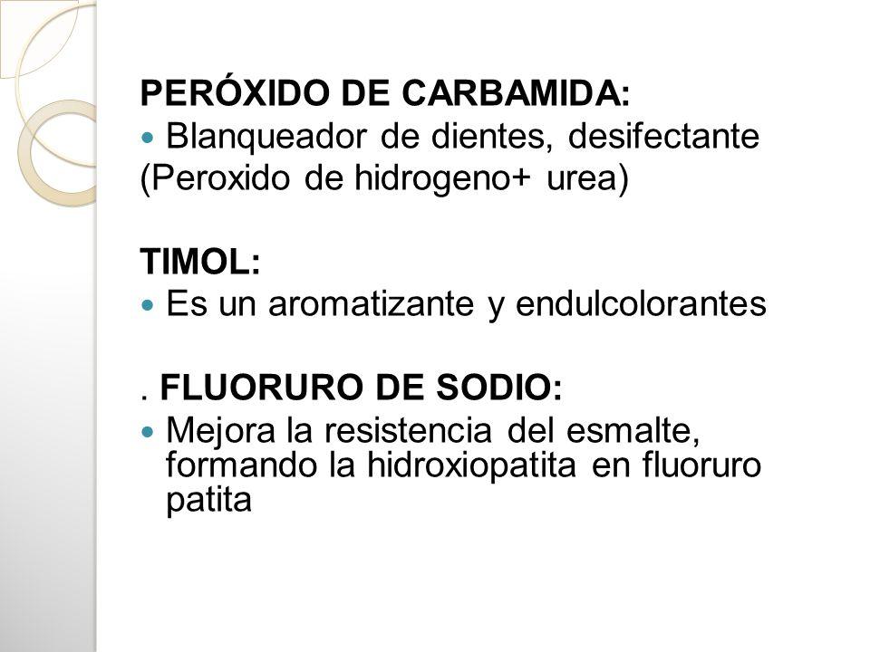 PERÓXIDO DE CARBAMIDA: