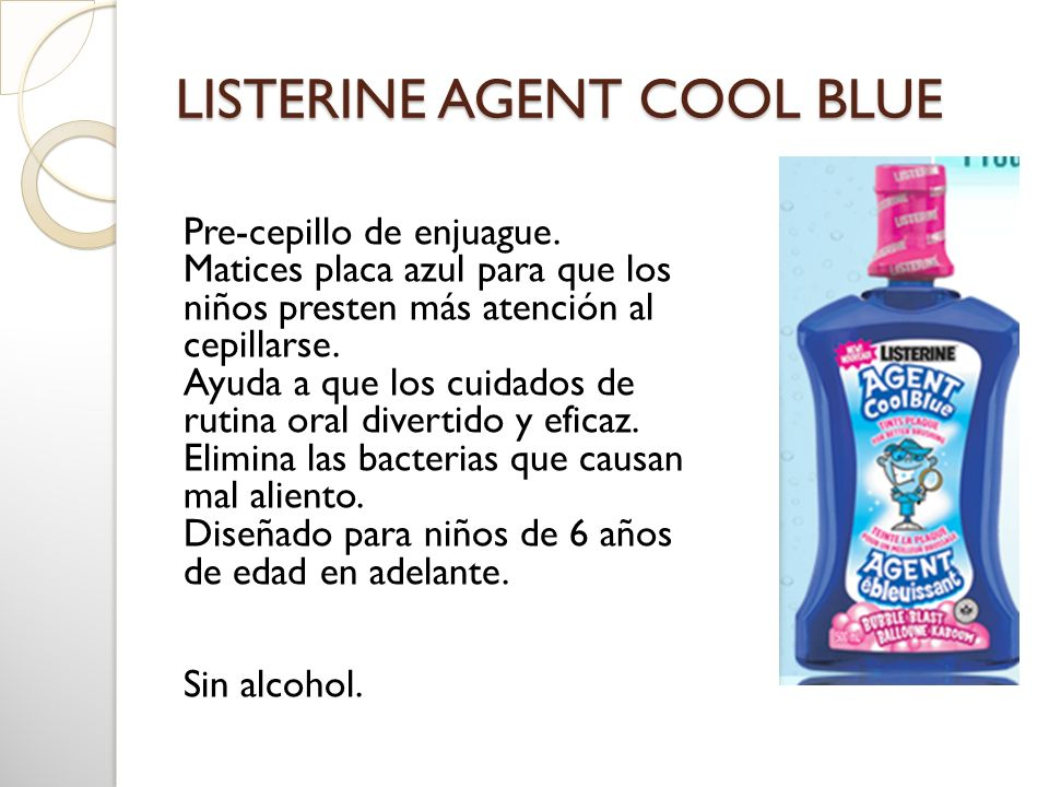 LISTERINE AGENT COOL BLUE