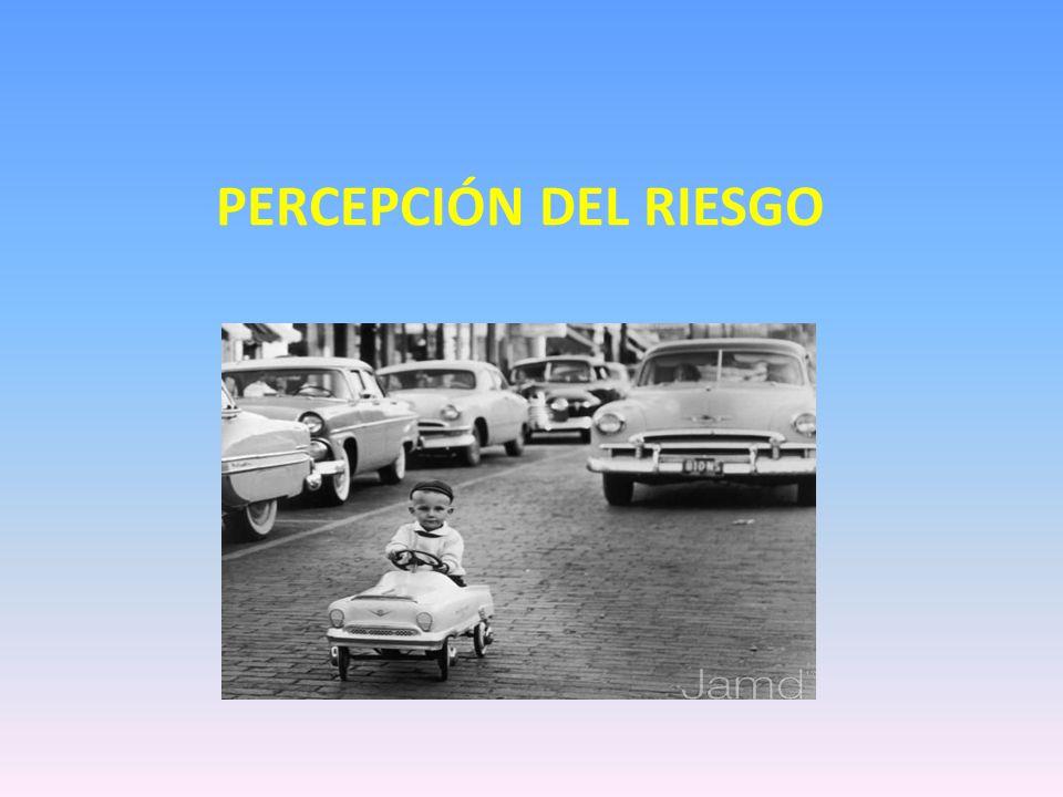 PERCEPCIÓN DEL RIESGO