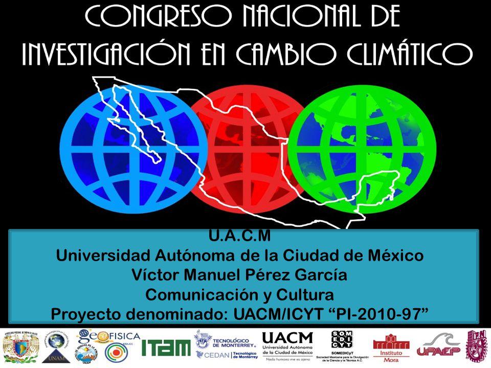 Universidad Autónoma de la Ciudad de México Víctor Manuel Pérez García