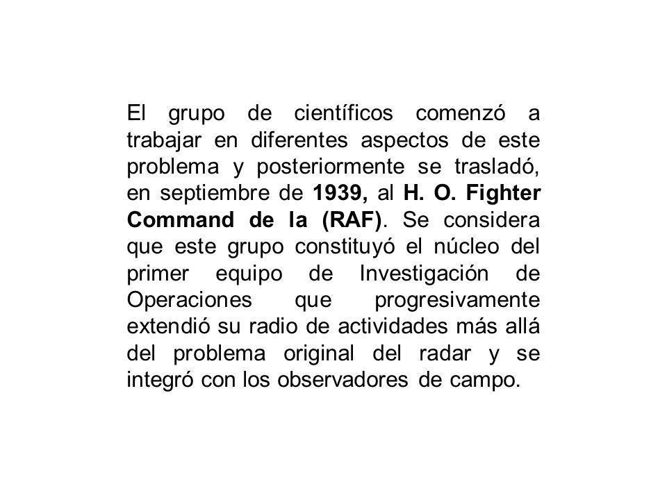 El grupo de científicos comenzó a trabajar en diferentes aspectos de este problema y posteriormente se trasladó, en septiembre de 1939, al H.