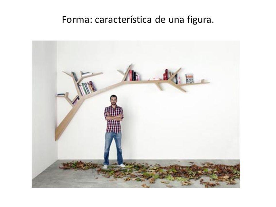 Forma: característica de una figura.