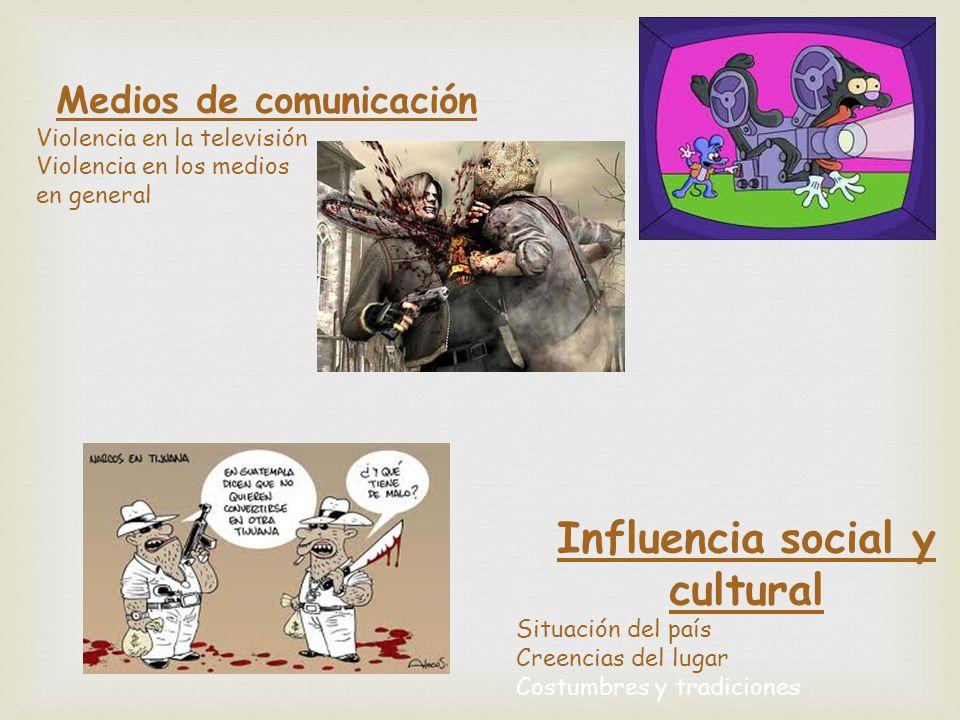 Medios de comunicación Influencia social y cultural