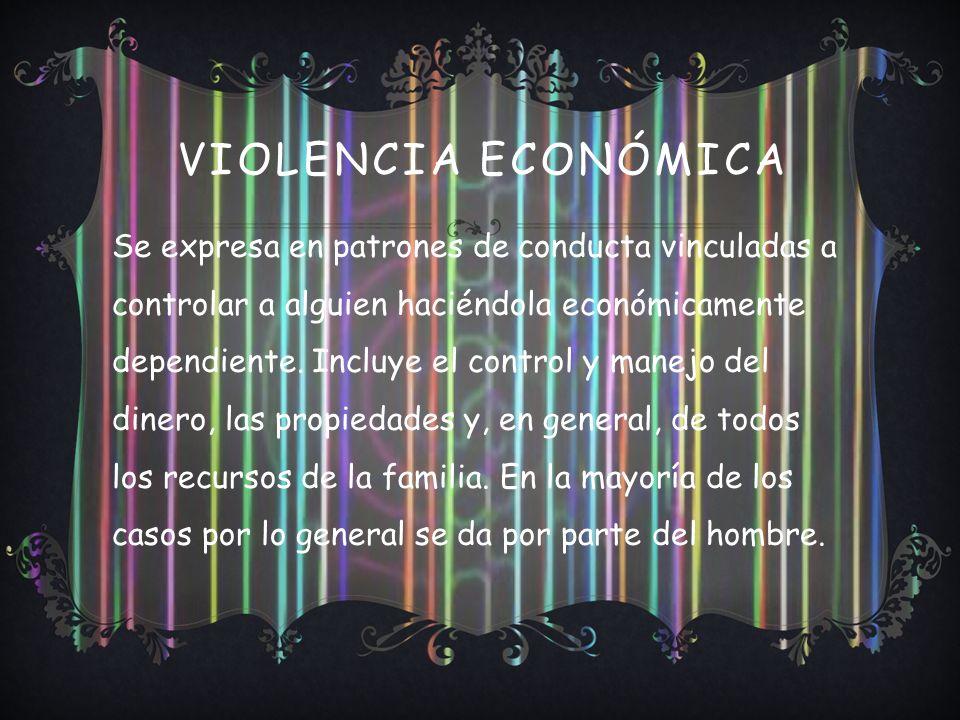 Violencia Económica