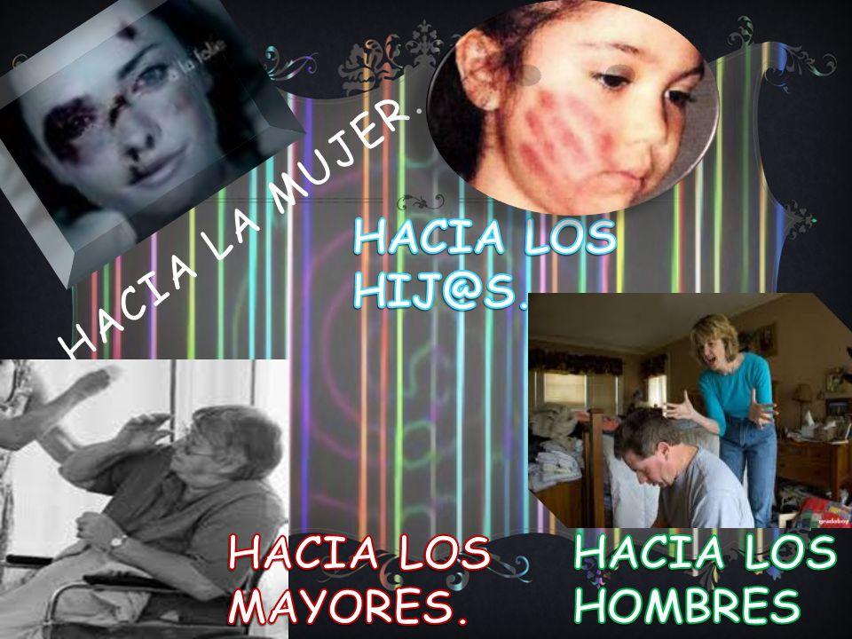 Hacia la mujer. HACIA LOS HIJ@S. HACIA LOS MAYORES. HACIA LOS HOMBRES