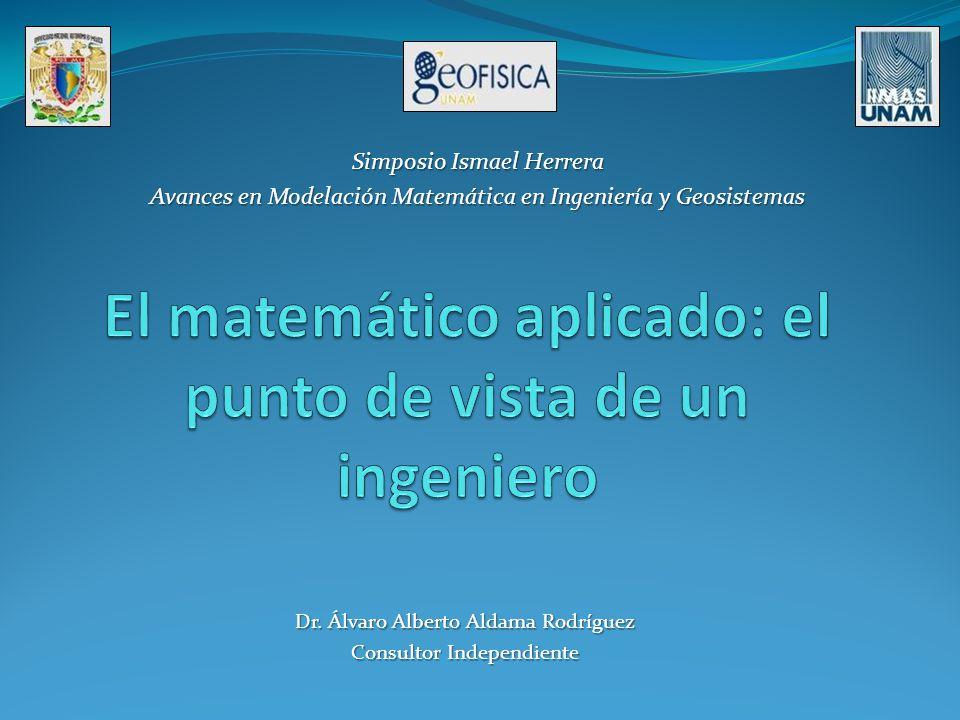 El matemático aplicado: el punto de vista de un ingeniero
