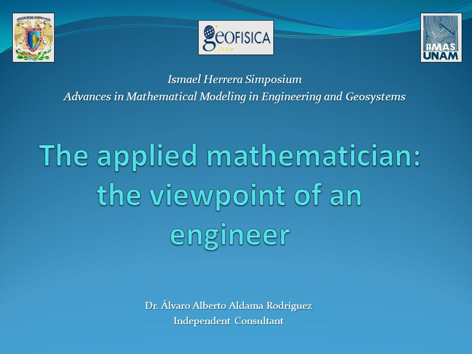 The applied mathematician: the viewpoint of an engineer