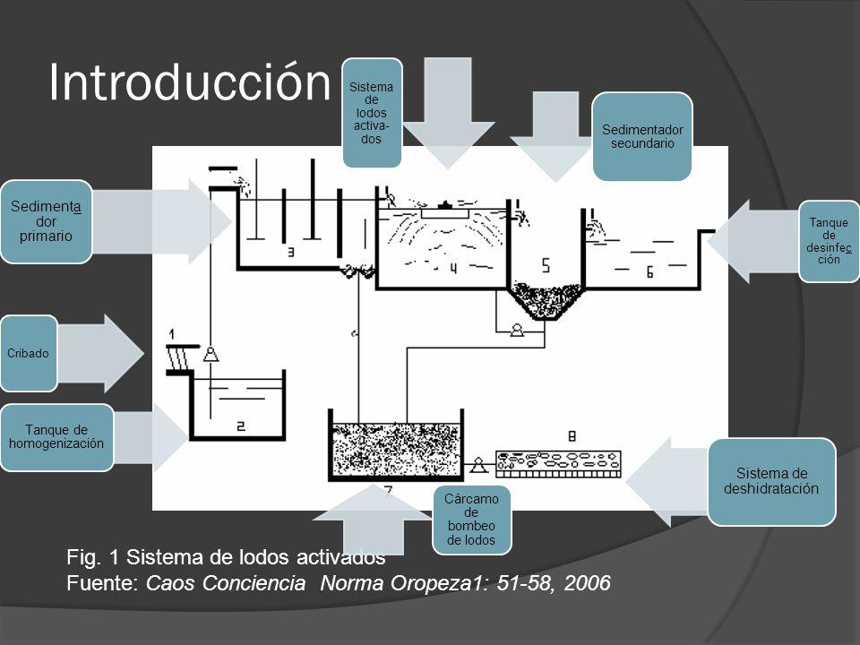 Introducción Fig. 1 Sistema de lodos activados