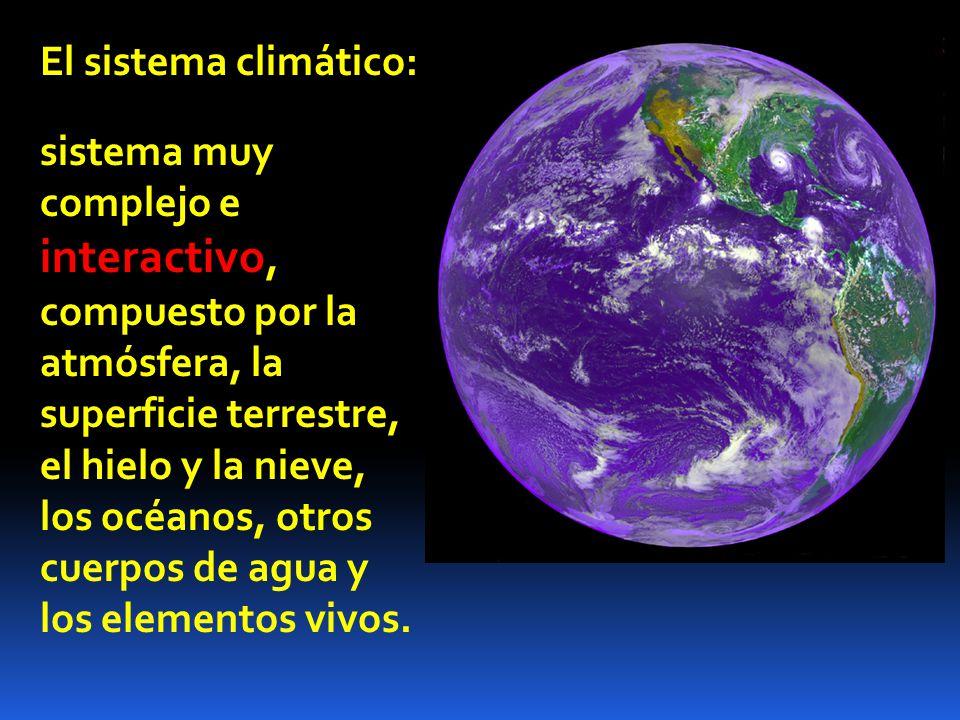 El sistema climático:
