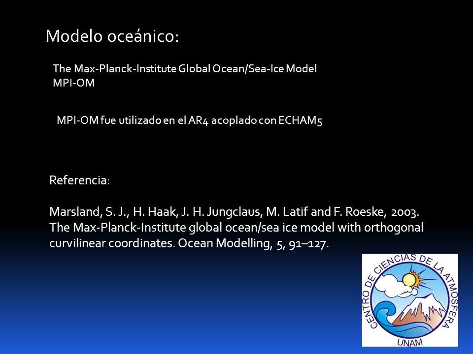 Modelo oceánico: Referencia: