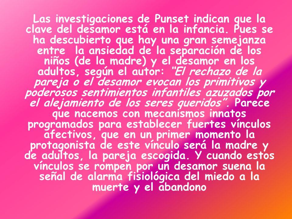Las investigaciones de Punset indican que la clave del desamor está en la infancia.