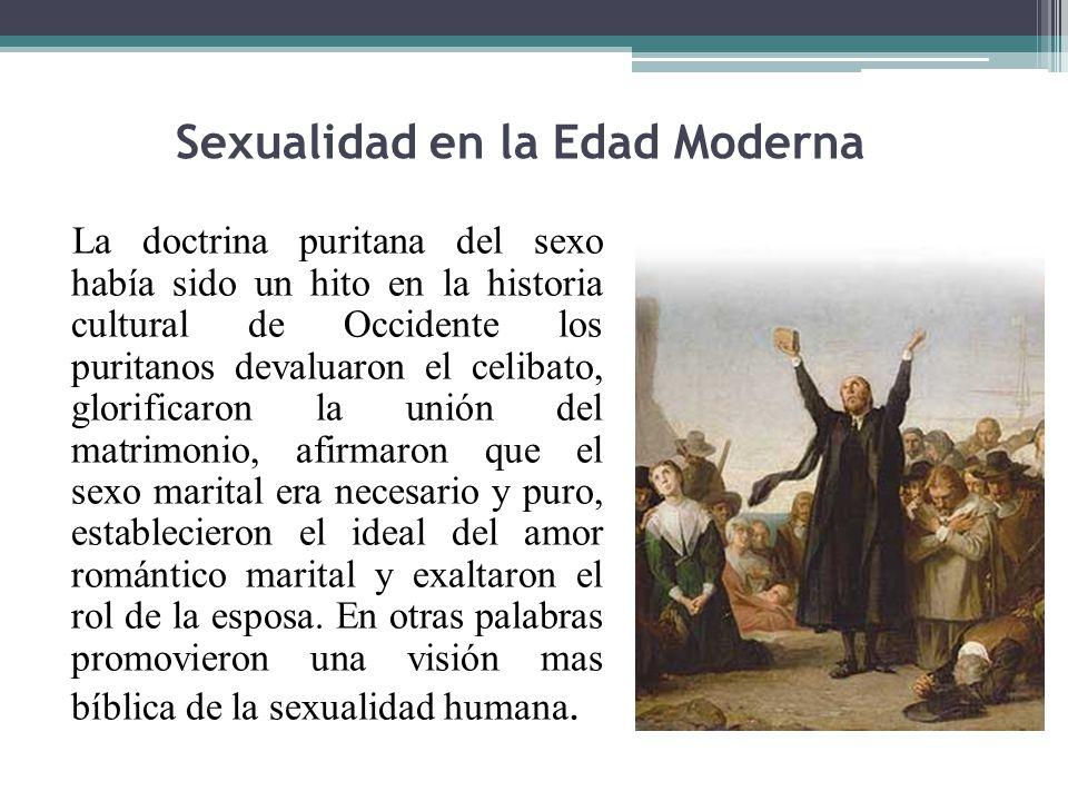 Sexualidad en la Edad Moderna