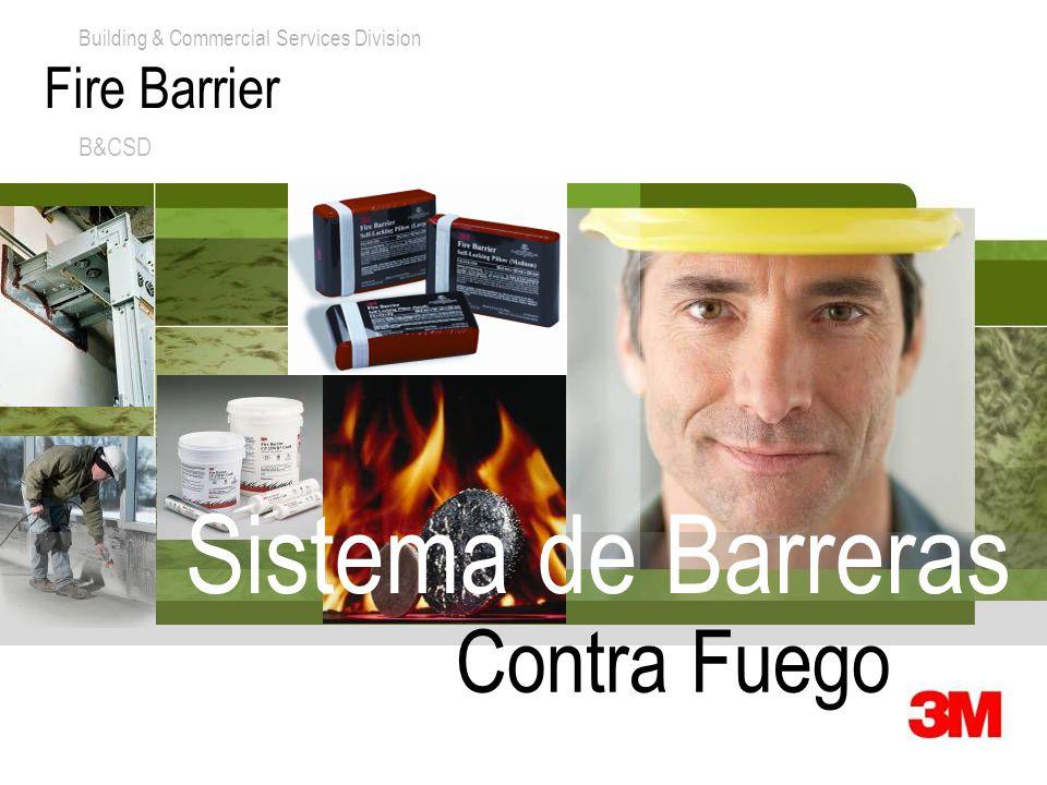 Fire Barrier B&CSD Sistema de Barreras Contra Fuego