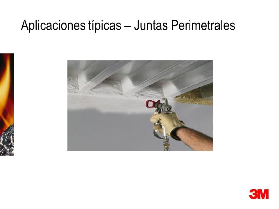 Aplicaciones típicas – Juntas Perimetrales