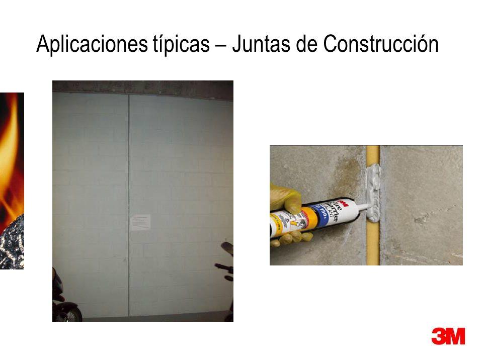 Aplicaciones típicas – Juntas de Construcción