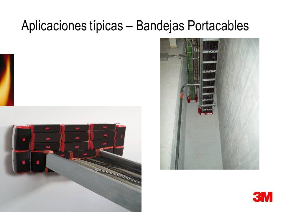 Aplicaciones típicas – Bandejas Portacables