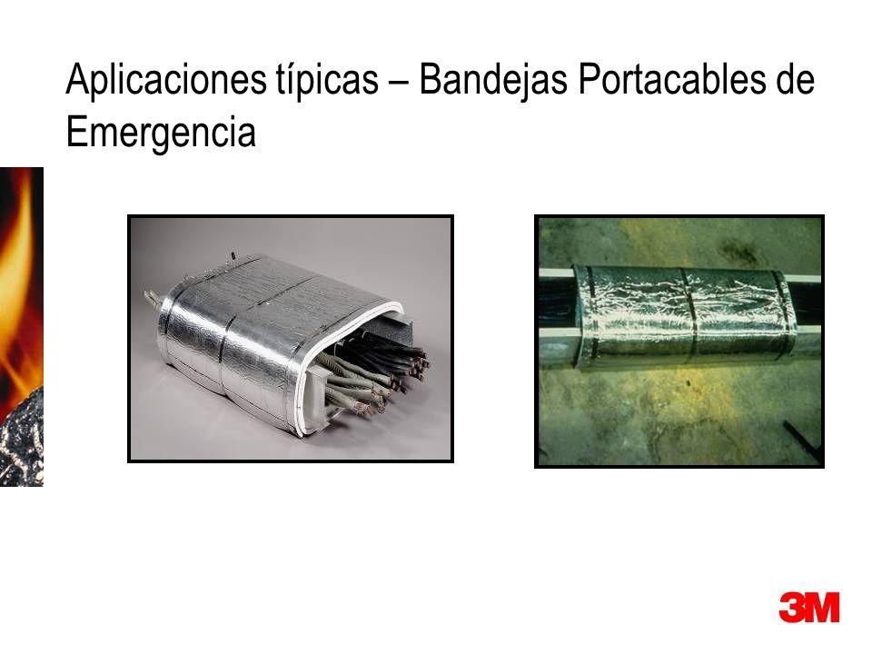 Aplicaciones típicas – Bandejas Portacables de Emergencia