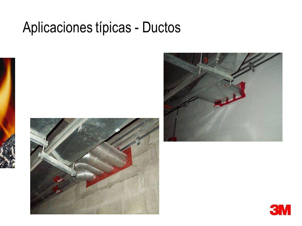 Aplicaciones típicas - Ductos