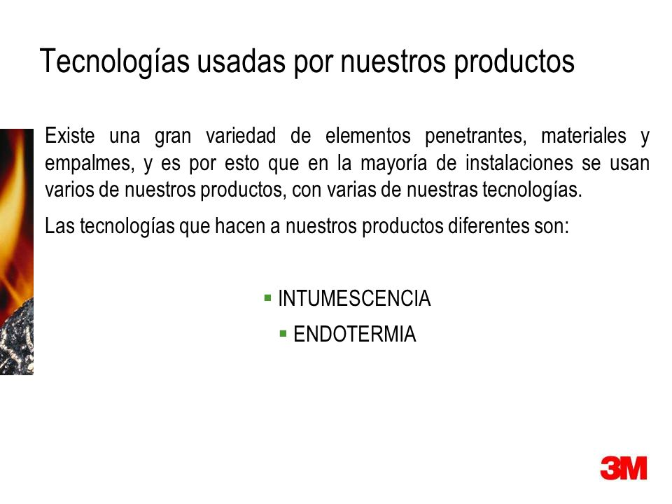 Tecnologías usadas por nuestros productos