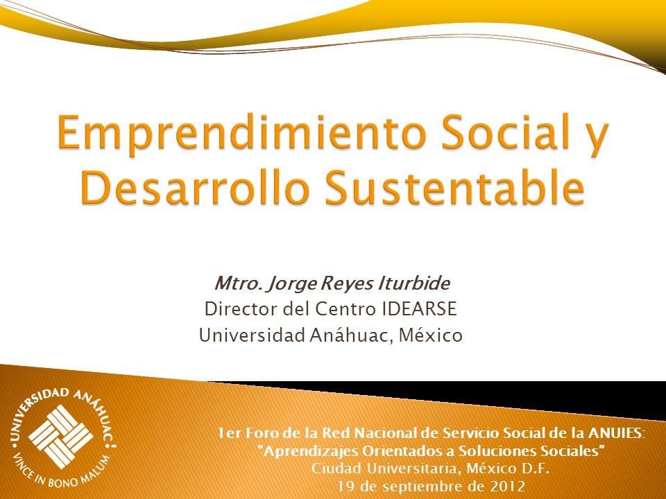 Emprendimiento Social y Desarrollo Sustentable