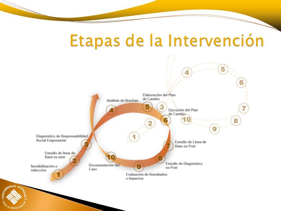 Etapas de la Intervención