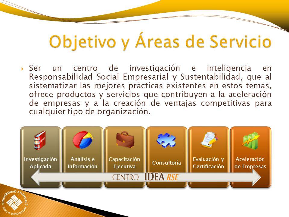 Objetivo y Áreas de Servicio