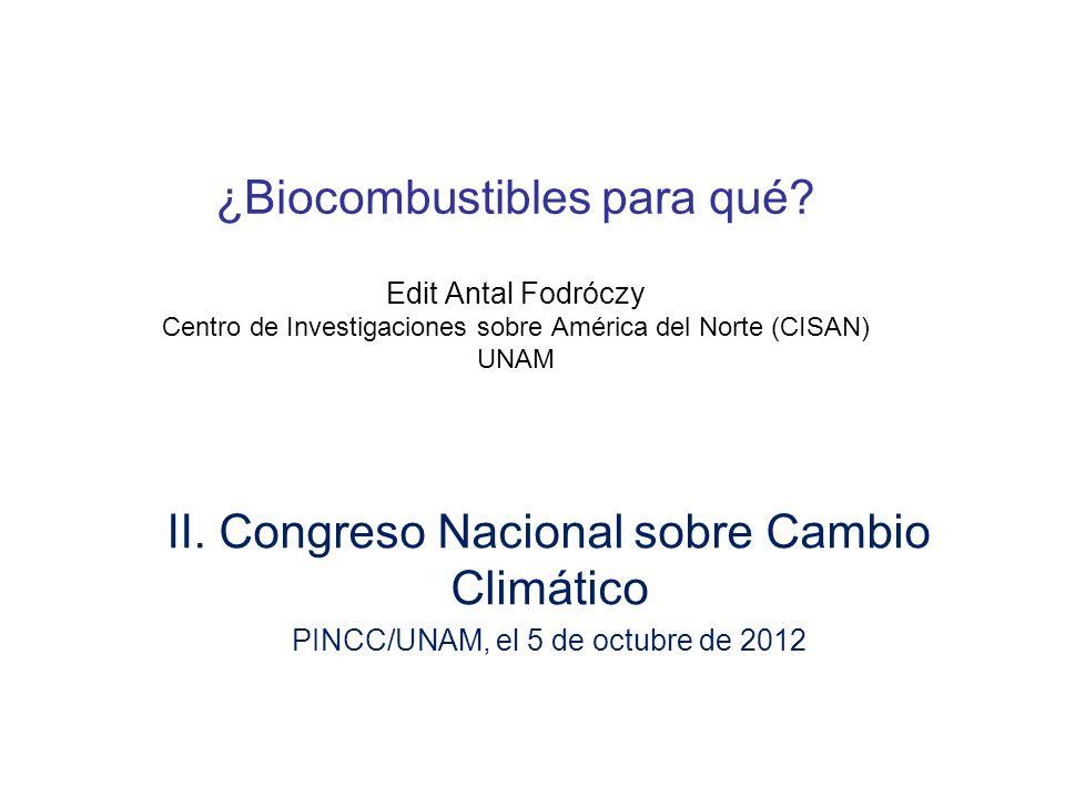 II. Congreso Nacional sobre Cambio Climático