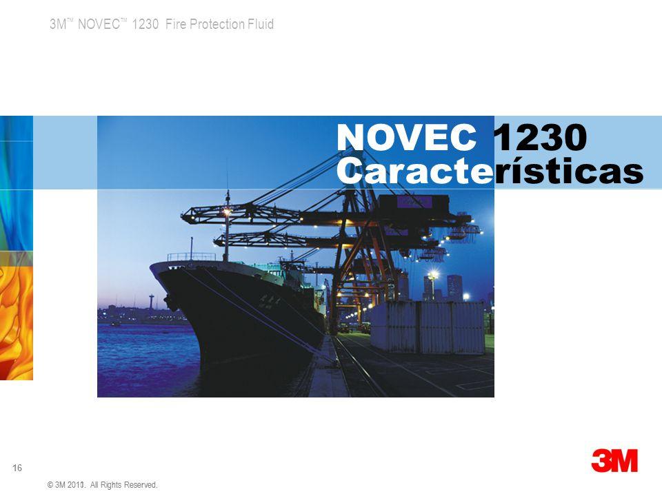NOVEC 1230 Características
