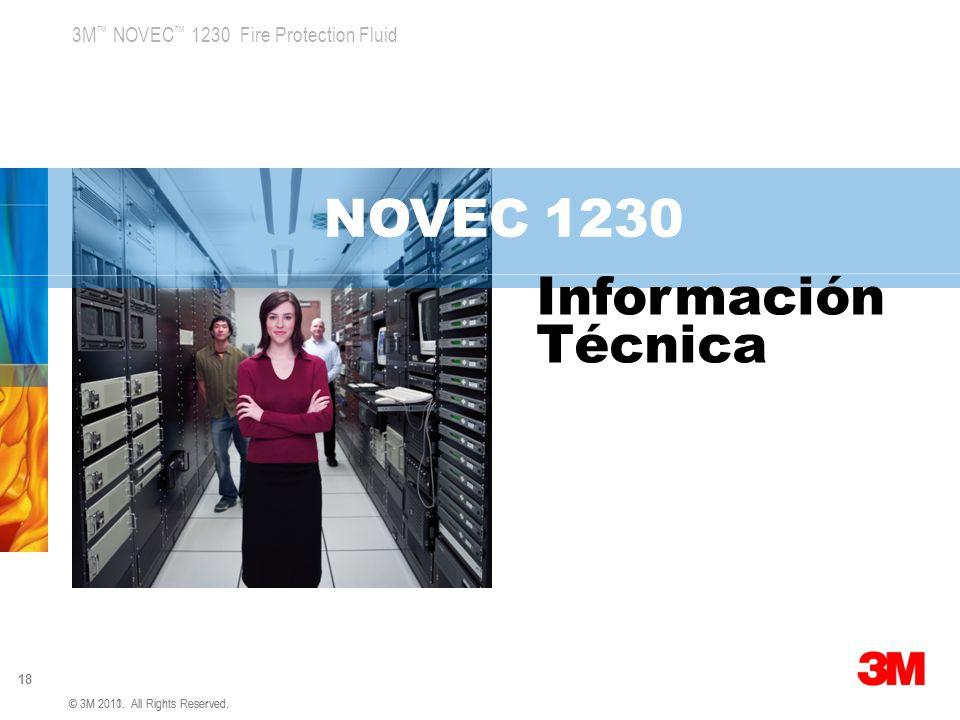 NOVEC 1230 Información Técnica 3M Global Concept 1 v5 4.5.07