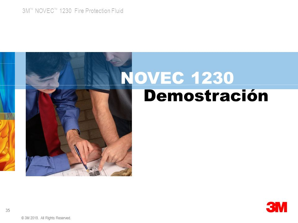 NOVEC 1230 Demostración 3M Global Concept 1 v5 4.5.07