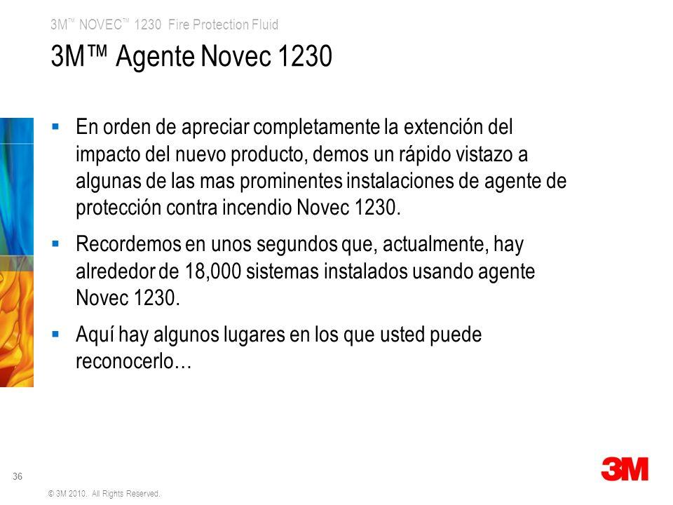 3M™ Agente Novec 1230