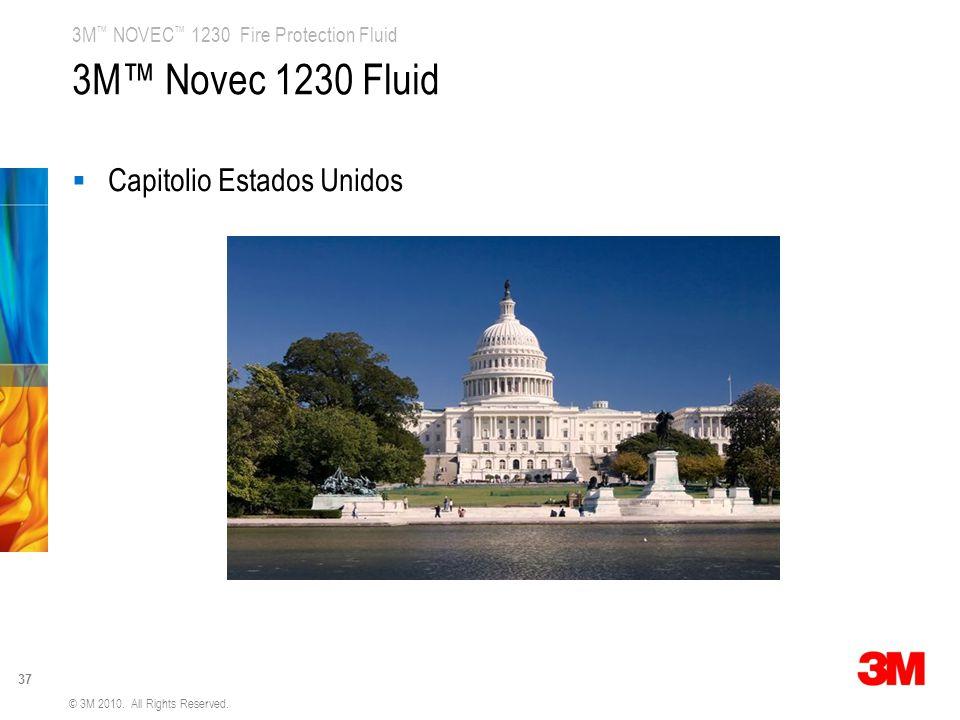 3M™ Novec 1230 Fluid Capitolio Estados Unidos