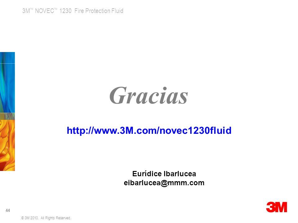 Gracias http://www.3M.com/novec1230fluid Eurídice Ibarlucea